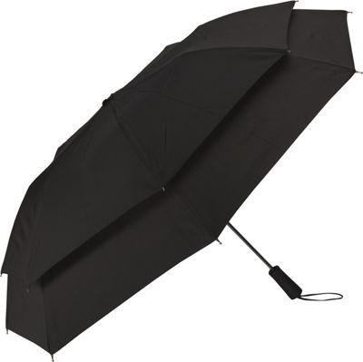 Samsonite Travel Accessories Windguard Auto Open Umbrella Black - Samsonite Travel Accessories Umbrellas and Rain Gear