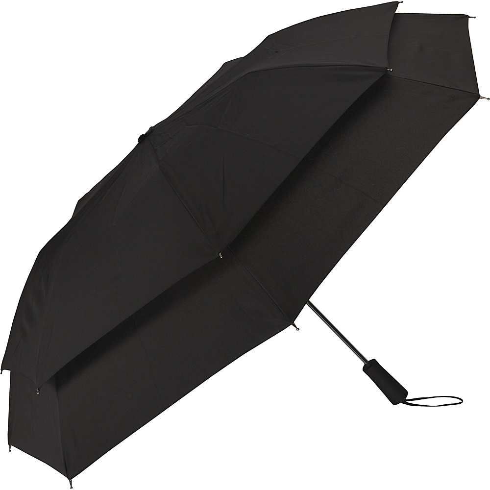 Samsonite Travel Accessories Windguard Auto Open Umbrella Black Samsonite Travel Accessories Umbrellas and Rain Gear