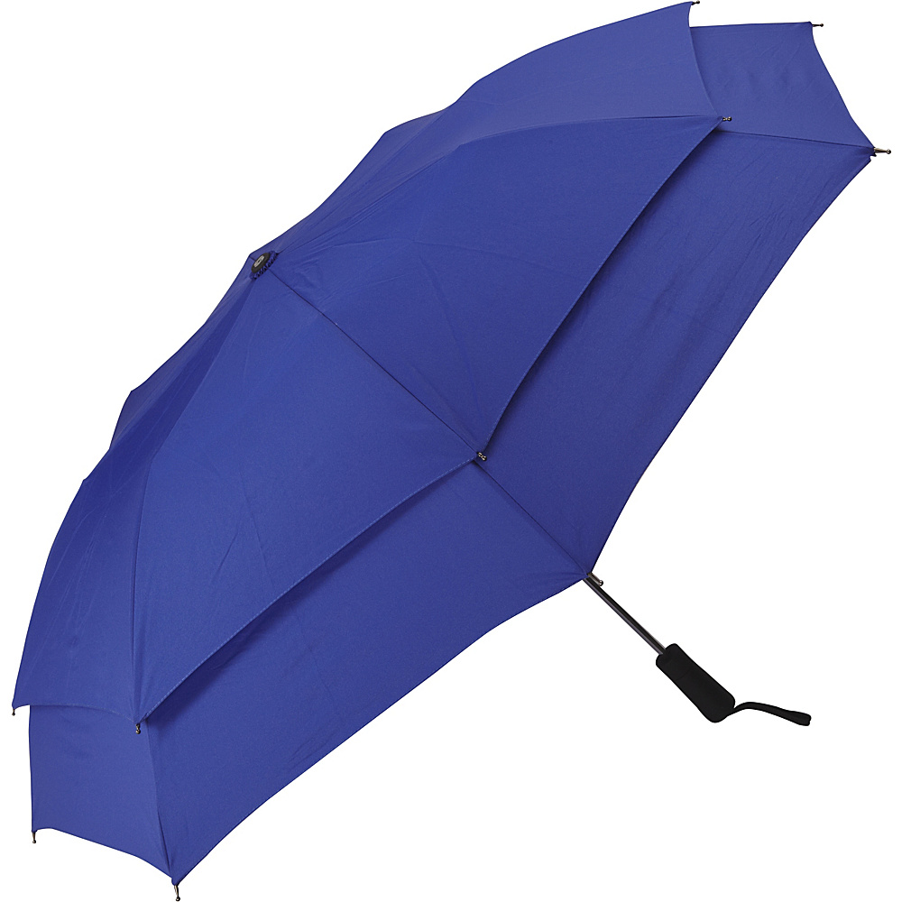 Samsonite Travel Accessories Windguard Auto Open Umbrella Aqua Blue Samsonite Travel Accessories Umbrellas and Rain Gear