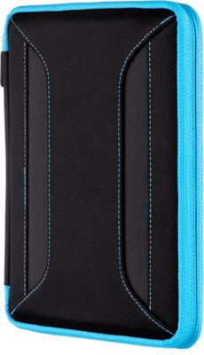 M-Edge Latitude Remix 360 Case for iPad Mini Black with Teal - M-Edge Electronic Cases