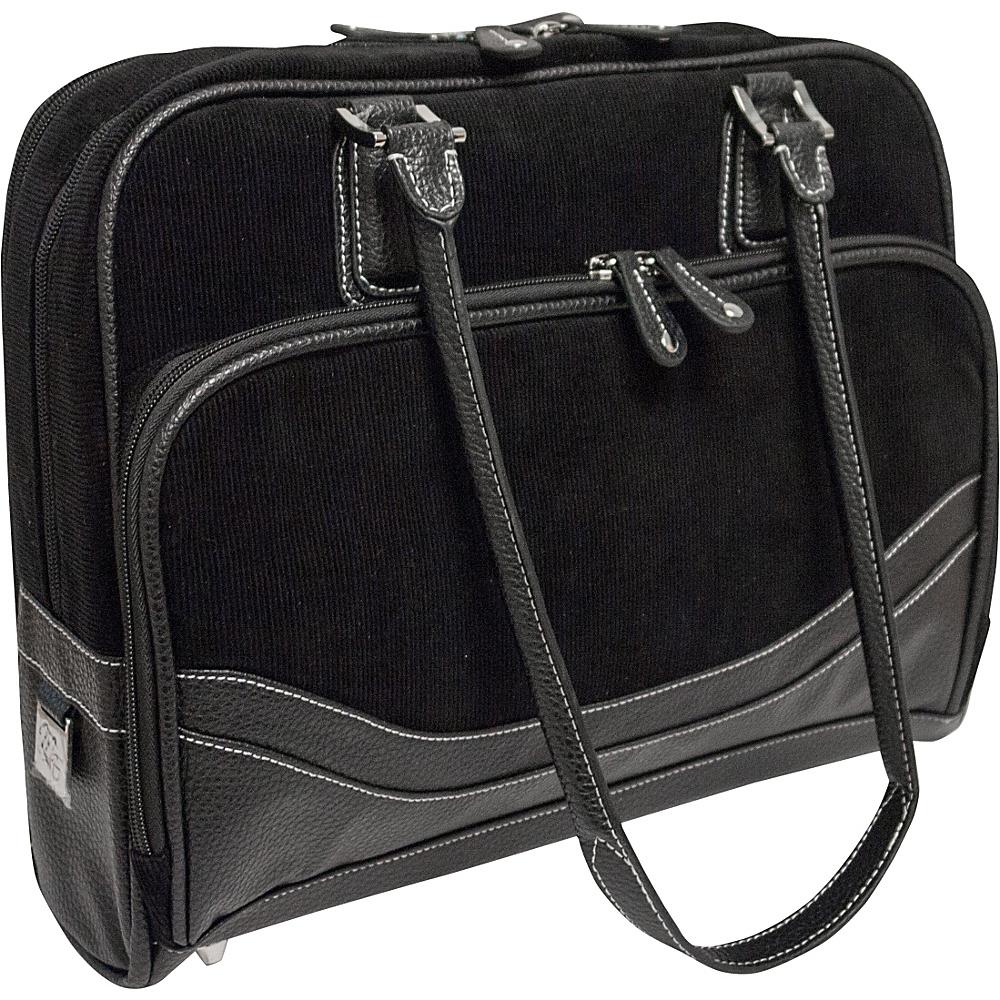 "Mobile Edge Classic Corduroy Tote - Small - 14.1""/15"" Mac Black - Mobile Edge Women's Business Bags"