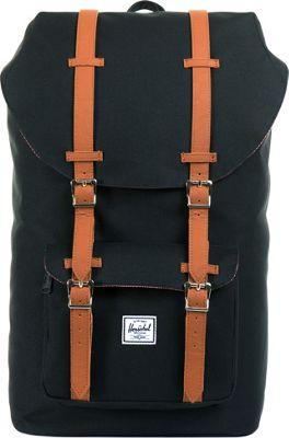 Herschel Supply Co. Little America Laptop Backpack - 15 inch Black - Herschel Supply Co. Business & Laptop Backpacks