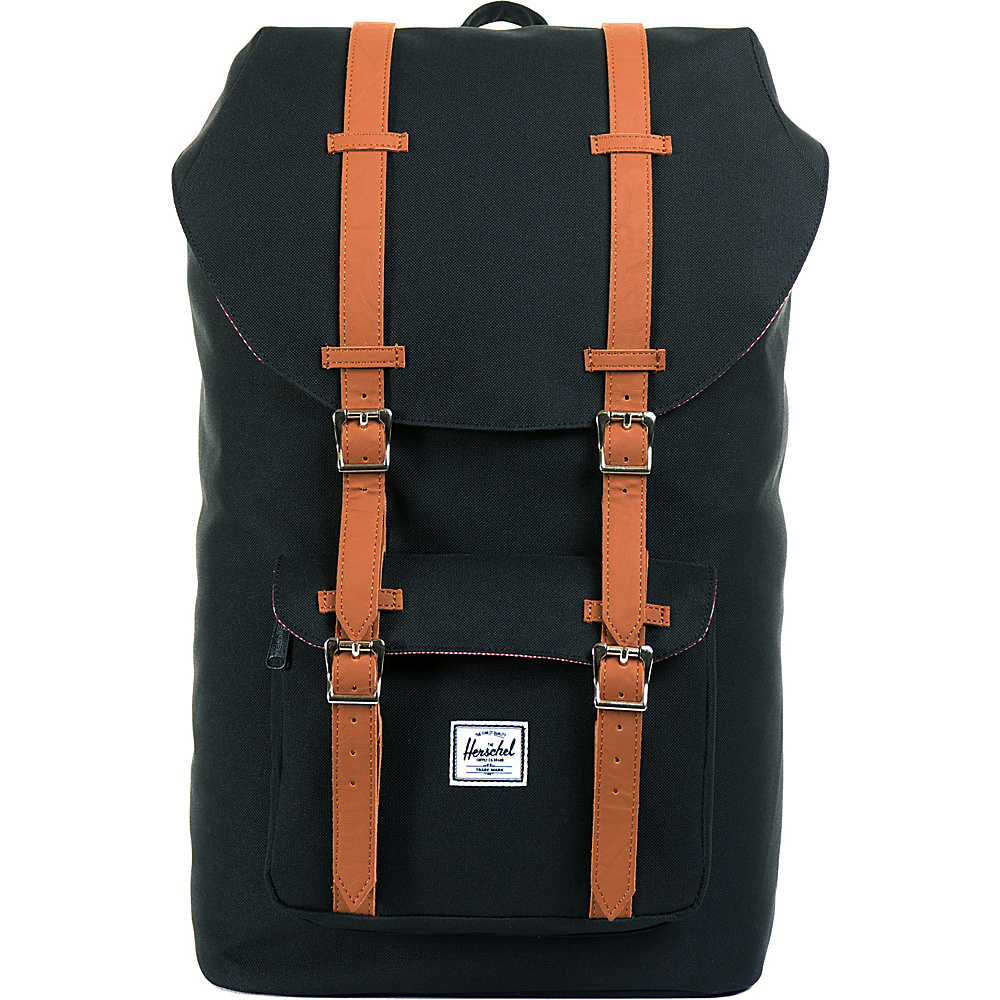 "Herschel Supply Co. Little America Laptop Backpack - 15"" Black - Herschel Supply Co. Business & Laptop Backpacks"