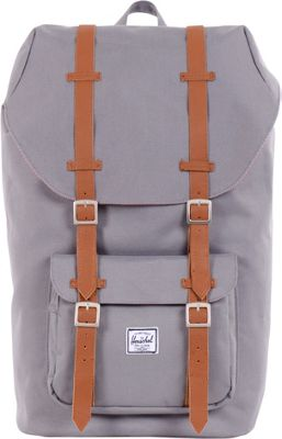 Herschel Supply Co. Little America Laptop Backpack - 15 inch Grey - Herschel Supply Co. Business & Laptop Backpacks