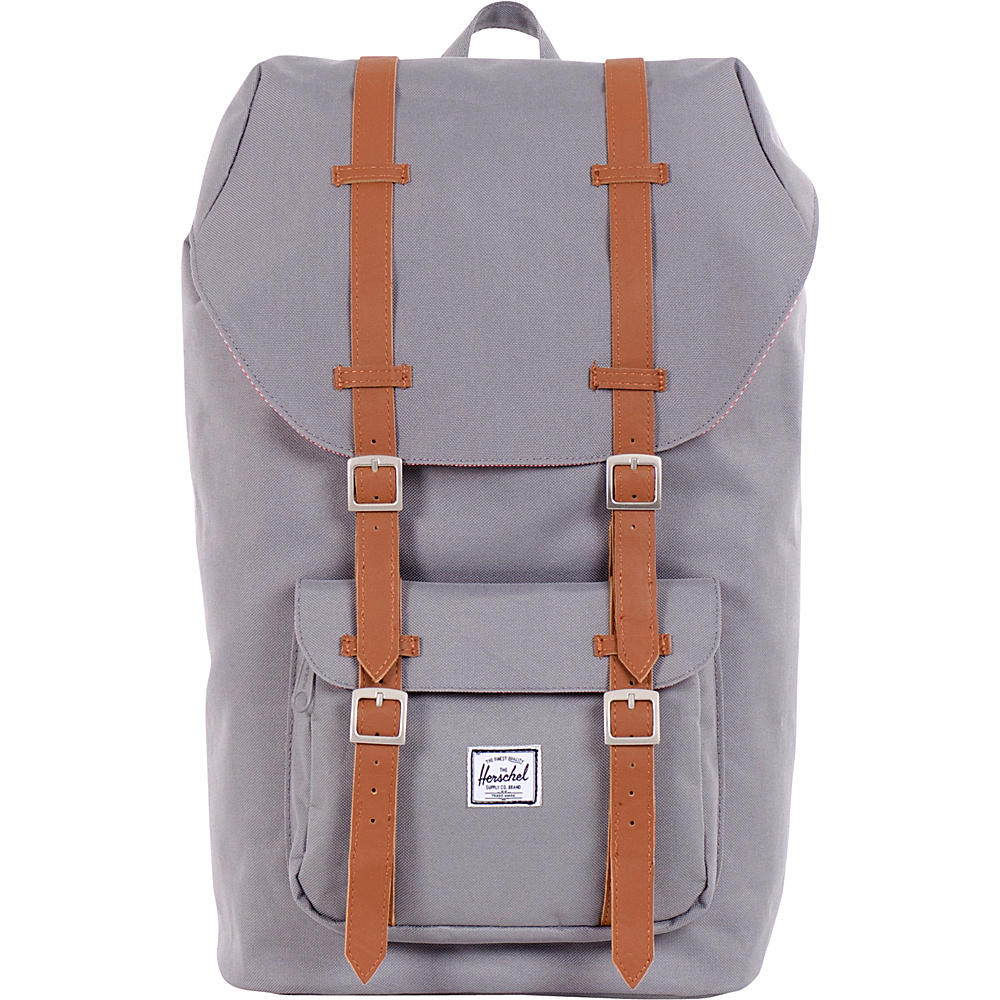 Herschel Supply Co. Little America Laptop Backpack Grey Herschel Supply Co. Business Laptop Backpacks
