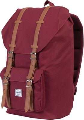 Herschel Supply Co. Little America Laptop Backpack - 15 inch Windsor Wine - Herschel Supply Co. Business & Laptop Backpacks