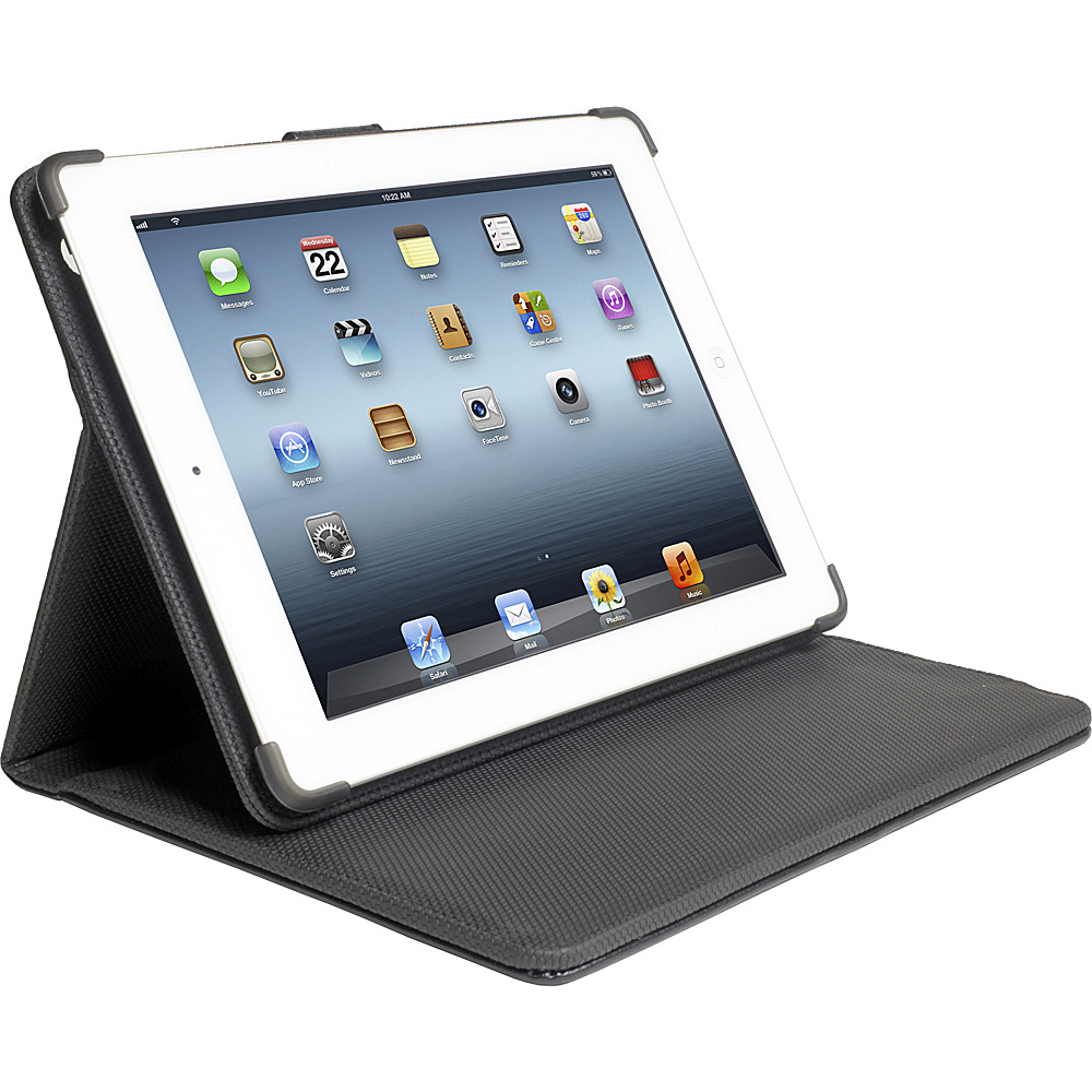 Digital Treasures Power Case for iPad 2 New iPad 12000mAh Black Digital Treasures Portable Batteries Chargers