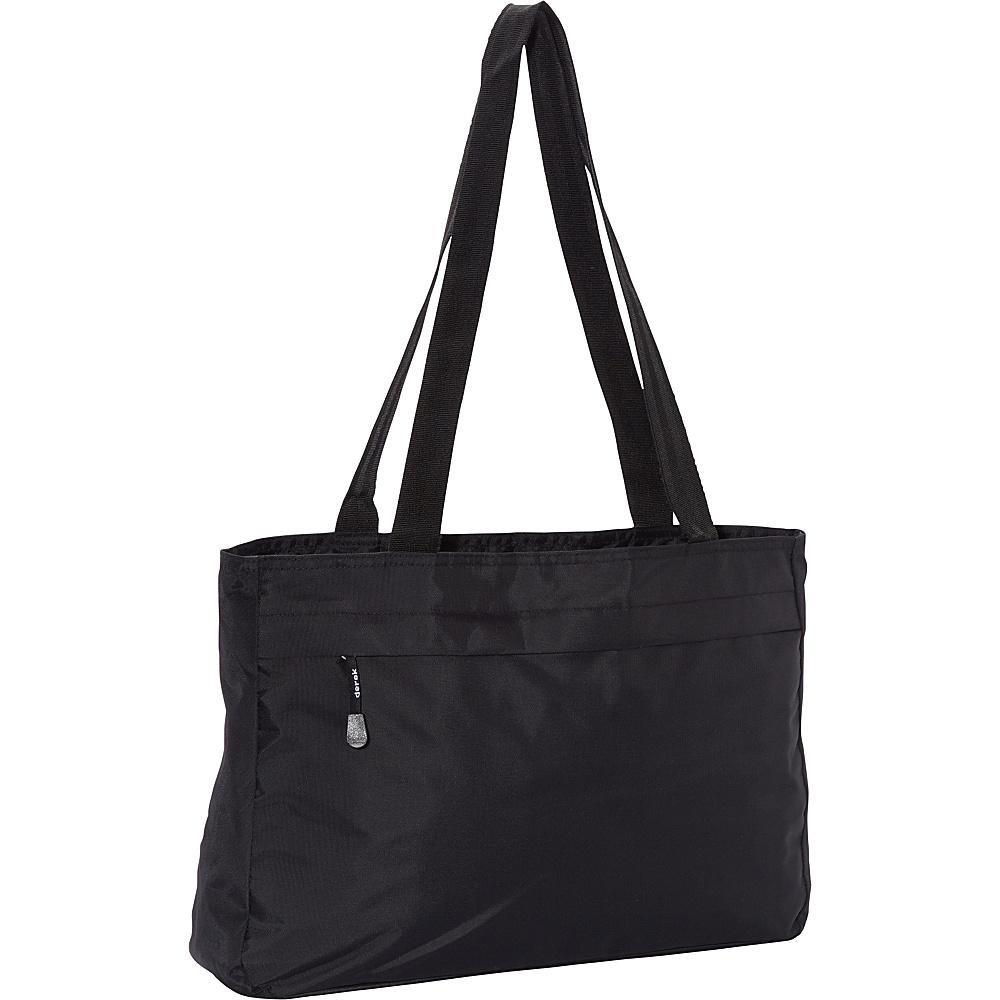 Derek Alexander EW Top Zip Tote Black - Derek Alexander Fabric Handbags - Handbags, Fabric Handbags