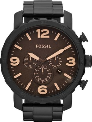 Fossil Nate Black/Brown - Fossil Watches