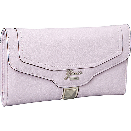 GUESS Gladis Slim Clutch Lilac Multi - GUESS Ladies Clutch Wallets