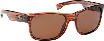 Hobie Eyewear Dogpatch Sunglasses Brown Wood Grain Frame With Copper PC Lens - Hobie Eyewear Sunglasses