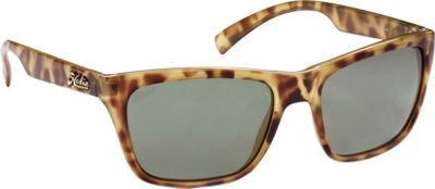 Hobie Eyewear Woody Sunglasses Leopard Tortoise Frame With Grey PC Lens - Hobie Eyewear Sunglasses