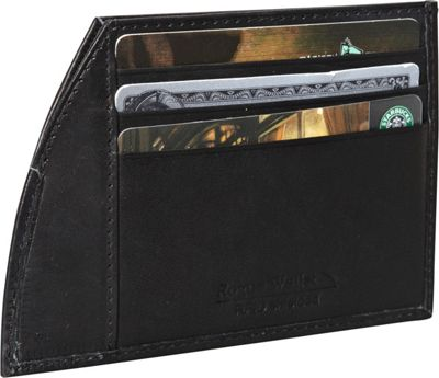 Rogue Wallets Rogue Wallets RFID Traveler Series Money Clip Black - Rogue Wallets Men's Wallets