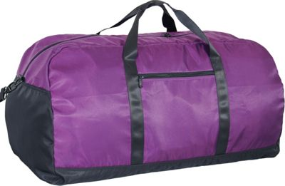 Netpack U-zip 30 inch Ballistic nylon duffel-Large Purple - Netpack Packable Bags