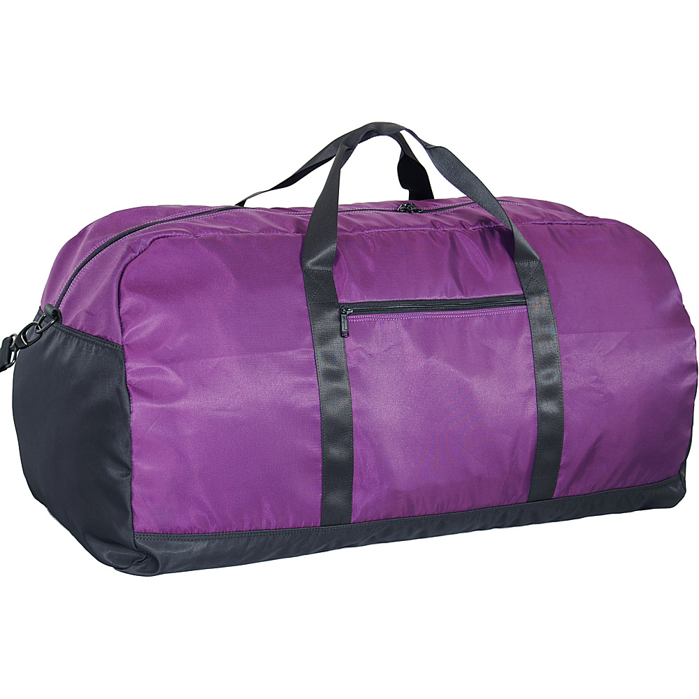 "Netpack U-zip 30"" Ballistic nylon duffel-Large Purple - Netpack Lightweight packable expandable bags"