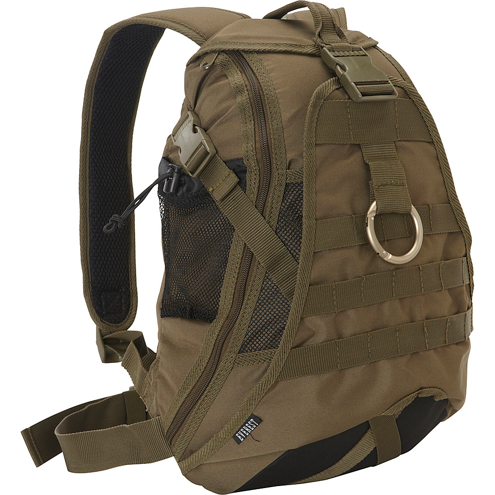 Everest Technical Hydration Backpack Olive - Everest Hydration Packs and Bottles - Outdoor, Hydration Packs and Bottles