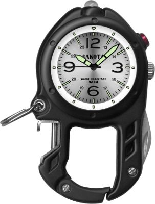 Dakota Watch Company Zip Clip Black with Silver - Dakota Watch Company Watches