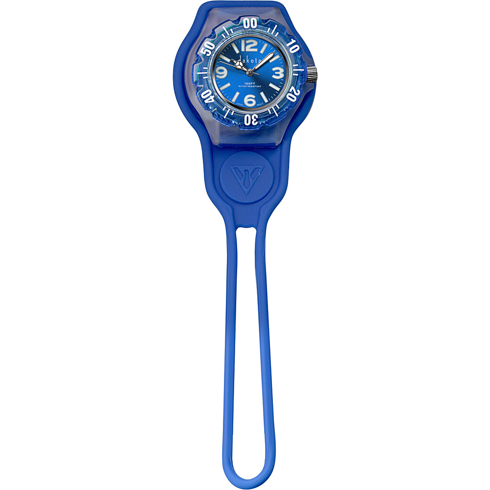 Dakota Watch Company Slip Thru Fob Blue Dakota Watch Company Watches