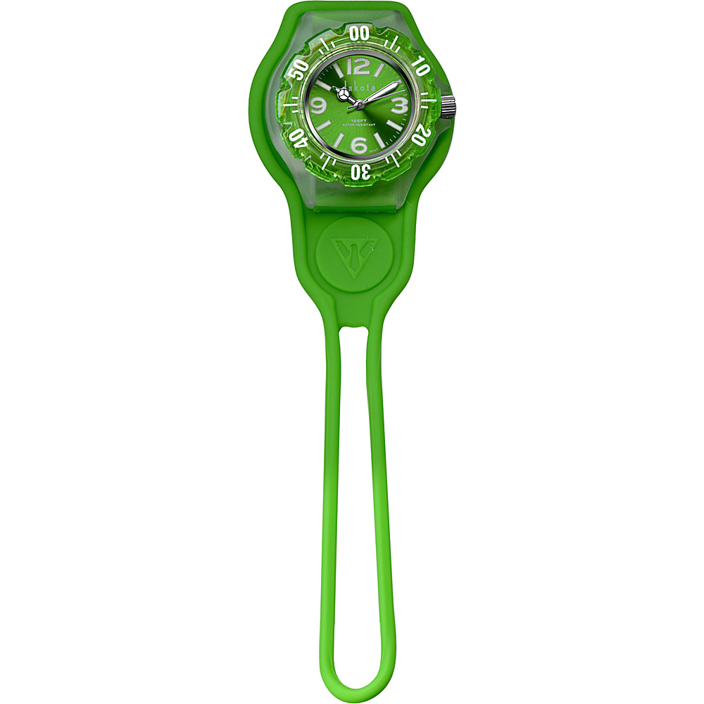 Dakota Watch Company Slip Thru Fob Green Dakota Watch Company Watches