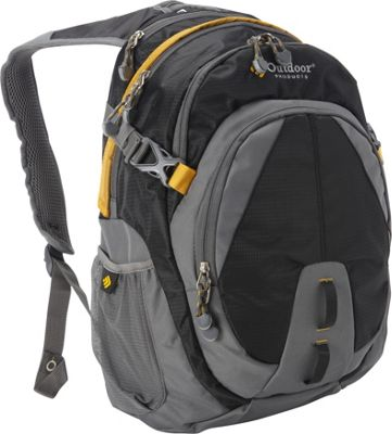 Outdoor Products Bam Pack Black - Outdoor Products Everyday Backpacks