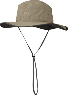Outdoor Research Solar Roller Hat XL - Khaki - Outdoor Research Hats/Gloves/Scarves