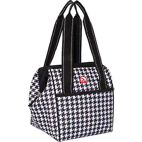 Igloo Leftover Tote 9 Can Cooler Houndstooth - Igloo Travel Coolers
