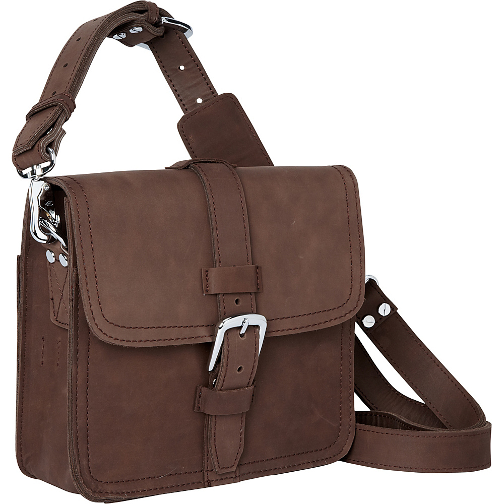 Vagabond Traveler 10 Leather Satchel Vintage Brown - Vagabond Traveler Other Mens Bags - Work Bags & Briefcases, Other Men's Bags