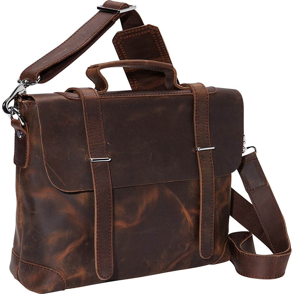 Vagabond Traveler 13.5 Leather Shoulder Bag Vintage Distress - Vagabond Traveler Other Mens Bags - Work Bags & Briefcases, Other Men's Bags