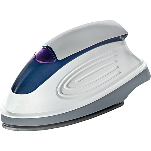 Travel Smart by Conair Mini Travel Iron White/Blue - Travel Smart by Conair Travel Comfort and Health