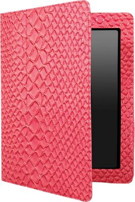 Travel Smart by Conair Coral Faux Crocodile Patent Leather Case for iPad  2 and The New iPad Coral/FauxCrocodilePatent - Travel Smart by Conair Electronic Cases