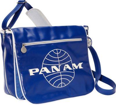 Pan Am Originals - Messenger Reloaded Pan Am Blue/Vintage White - Pan Am Messenger Bags
