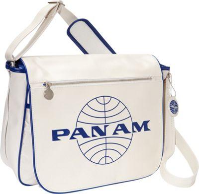 Pan Am Originals - Messenger Reloaded Vintage White/Pan Am Blue - Pan Am Messenger Bags