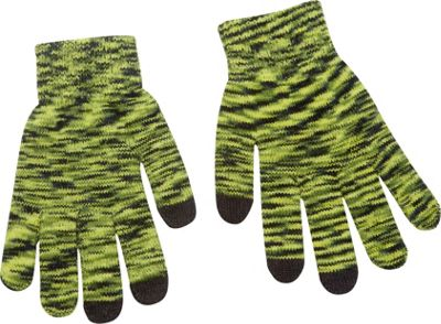 Magid Multi Colored Touch Screen Gloves Green - Magid Hats/Gloves/Scarves
