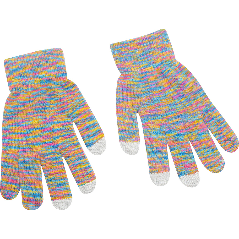 Magid Multi Colored Touch Screen Gloves Multi Magid Hats Gloves Scarves
