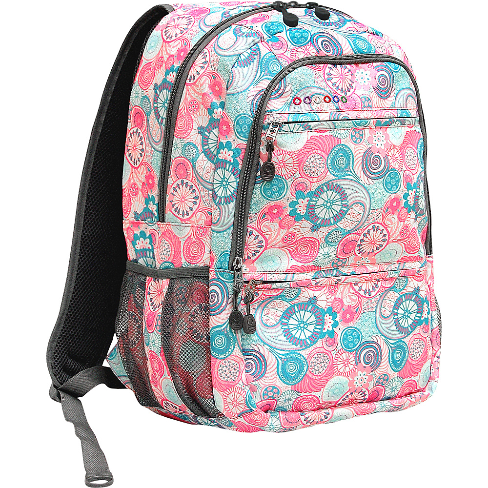 J World New York Dexter Laptop Backpack Blue Raspberry - J World New York Business & Laptop Backpacks - Backpacks, Business & Laptop Backpacks