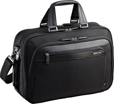 Zero Halliburton Profile 6 inch Core Computer Brief Black - Zero Halliburton Non-Wheeled Business Cases