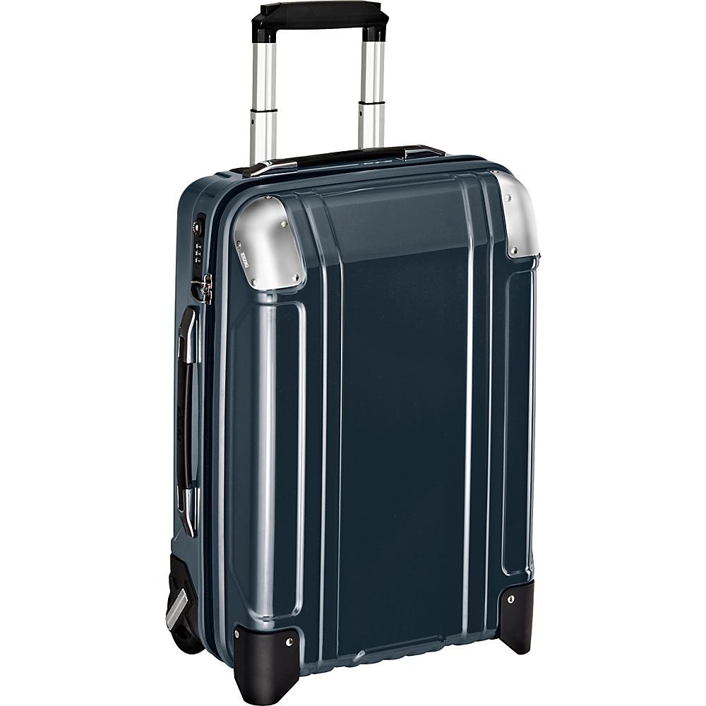 Zero Halliburton Geo Polycarbonate Carry On 2 Wheel Travel Case Gun Metal GM Zero Halliburton Hardside Carry On