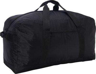 McBrine Luggage 28 inch Nylon Duffle Bag Black - McBrine Luggage Travel Duffels