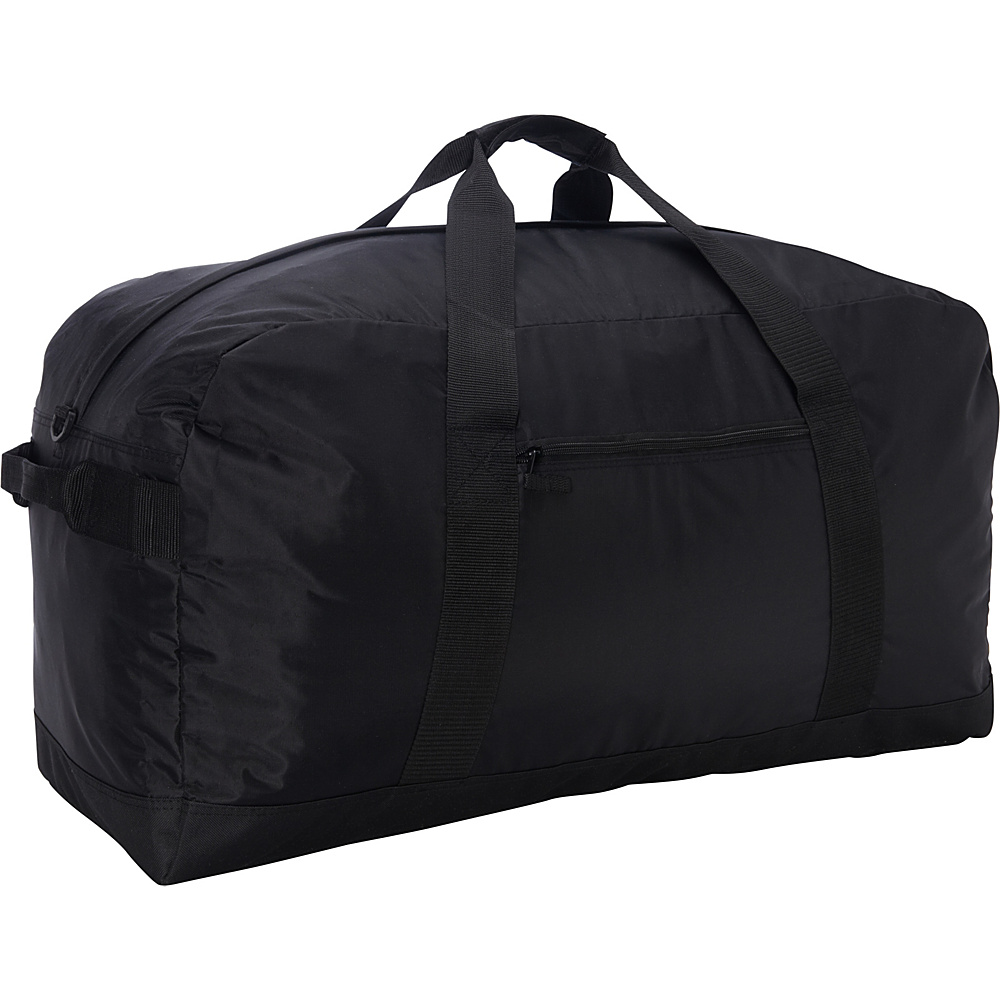 "McBrine Luggage 28"" Nylon Duffle Bag Black - McBrine Luggage Travel Duffels"