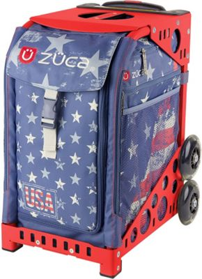 ZUCA Sport Unit - GO USA! Bag / Red Frame USA Bag - Red Frame - ZUCA Other Sports Bags