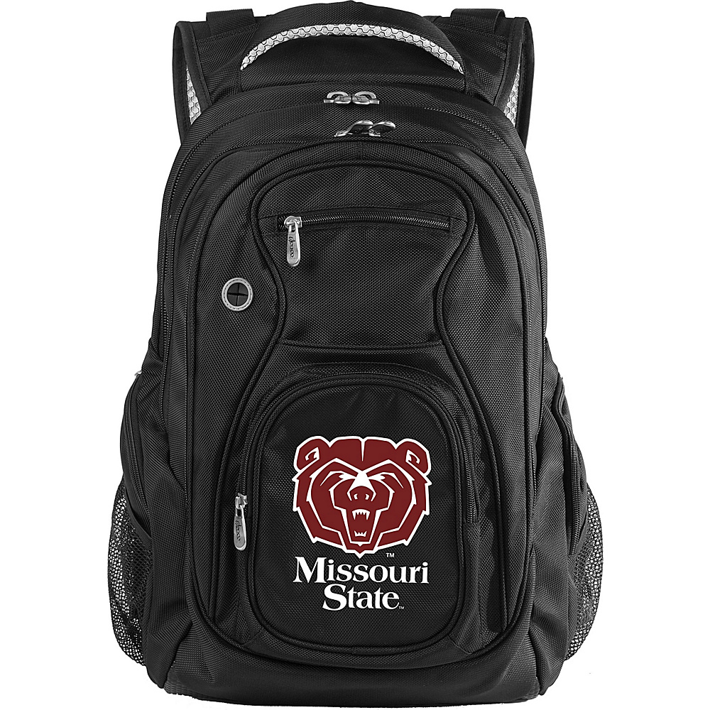 Denco Sports Luggage NCAA Missouri State University Bears 19 Laptop Backpack Black - Denco Sports Luggage Laptop Backpacks - Backpacks, Laptop Backpacks