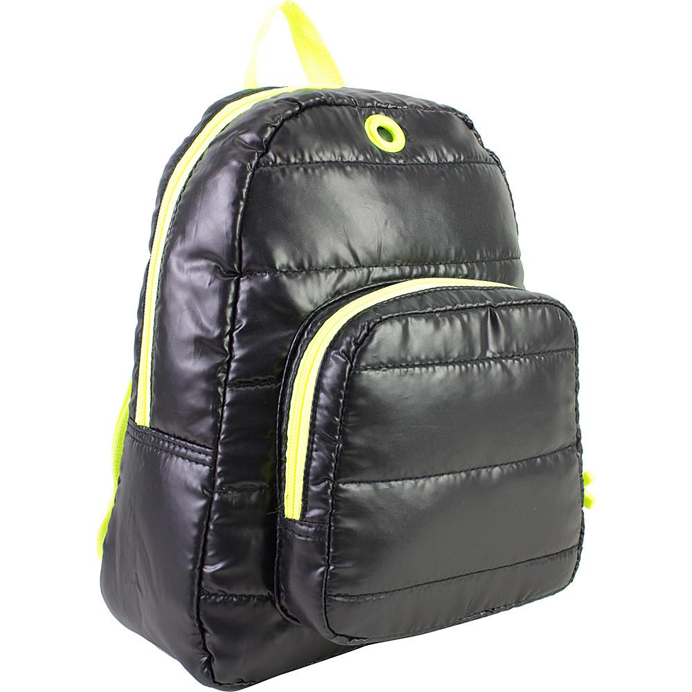 Fuel Neon Mini Backpack Black - Fuel Everyday Backpacks