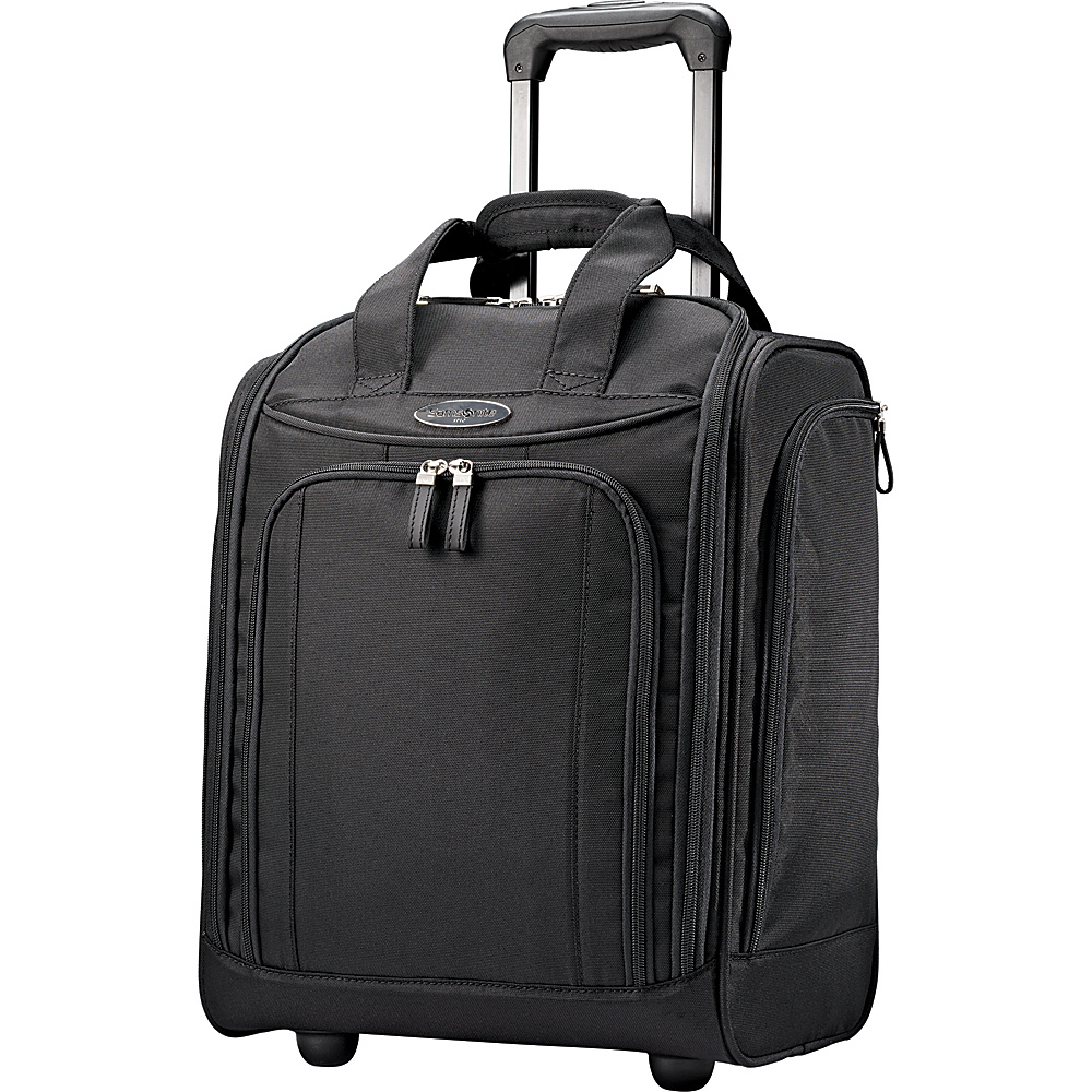 Samsonite Wheeled Underseater Large Black - Samsonite Softside Carry-On
