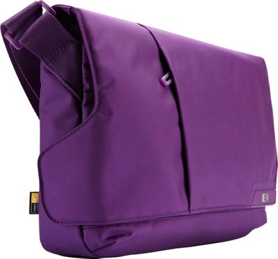 Case Logic iPad and 11 inch Laptop Messenger Gotham Purple - Case Logic Non-Wheeled Business Cases