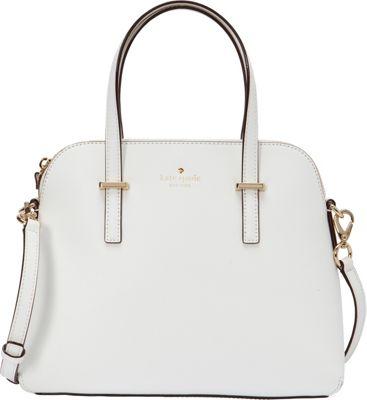 kate spade new york Cedar Street Maise Convertible Satchel Bright White - kate spade new york Designer Handbags