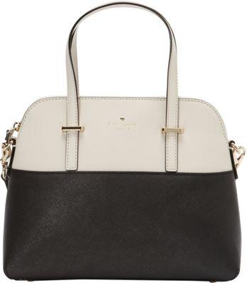 kate spade new york Cedar Street Maise Convertible Satchel Black/Pebble - kate spade new york Designer Handbags