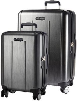 eBags EXO 2.0 Hardside Spinner 2PC Set Brushed Graphite - eBags Luggage Sets