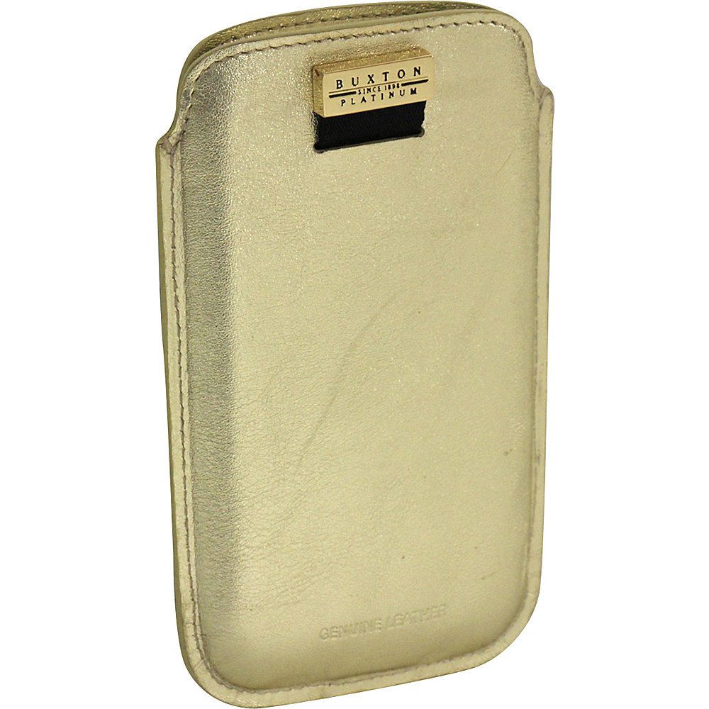 Buxton Cell Sleeve Gold - Buxton Electronic Cases - Technology, Electronic Cases