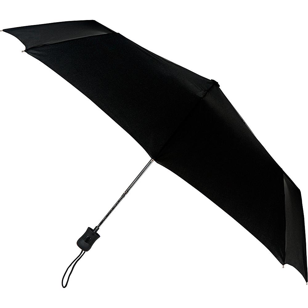 Leighton Umbrellas Como black Leighton Umbrellas Umbrellas and Rain Gear