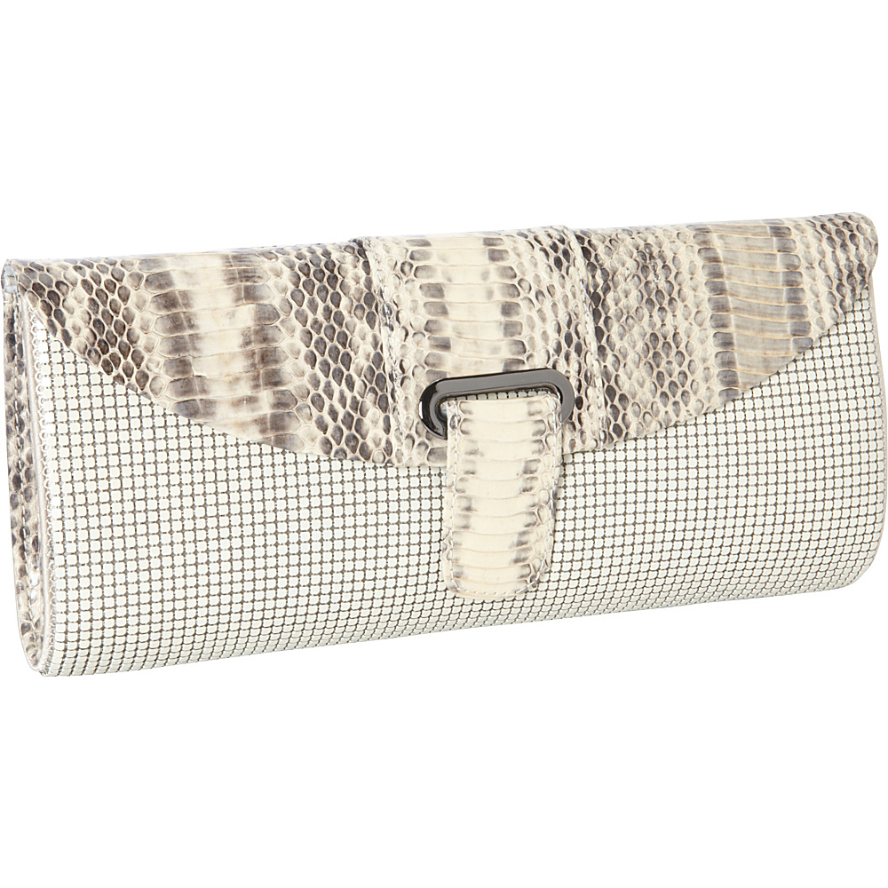 Whiting and Davis Candy Color Snake Bone - Whiting and Davis Evening Bags